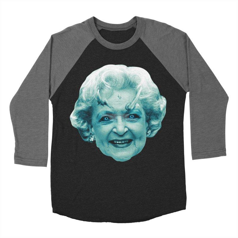 Betty Whitewalker Men's Baseball Triblend Longsleeve T-Shirt by Gamma Bomb - Explosively Mutating Your Look