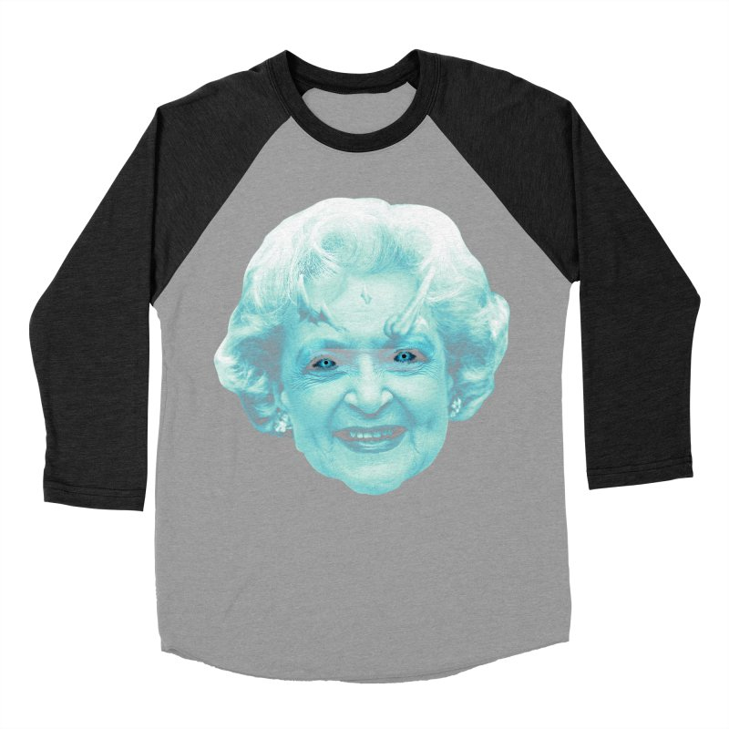 Betty Whitewalker Men's Baseball Triblend Longsleeve T-Shirt by Gamma Bomb - Explosively Mutating Your Look