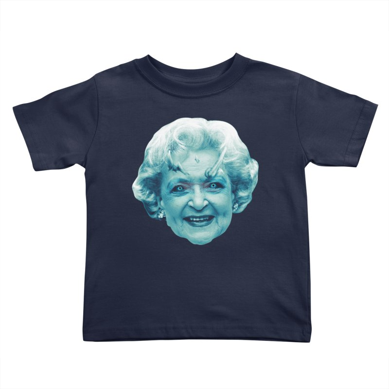Betty Whitewalker Kids Toddler T-Shirt by Gamma Bomb - Explosively Mutating Your Look