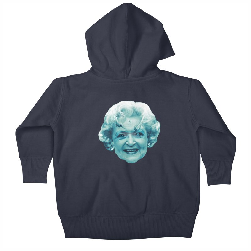 Betty Whitewalker Kids Baby Zip-Up Hoody by Gamma Bomb - Explosively Mutating Your Look