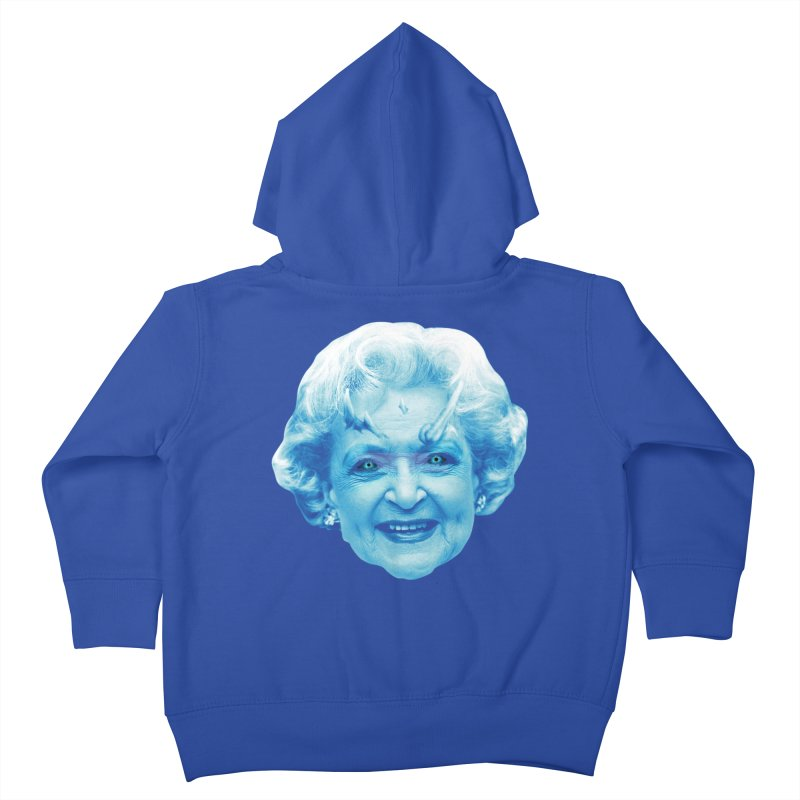 Betty Whitewalker Kids Toddler Zip-Up Hoody by Gamma Bomb - Explosively Mutating Your Look