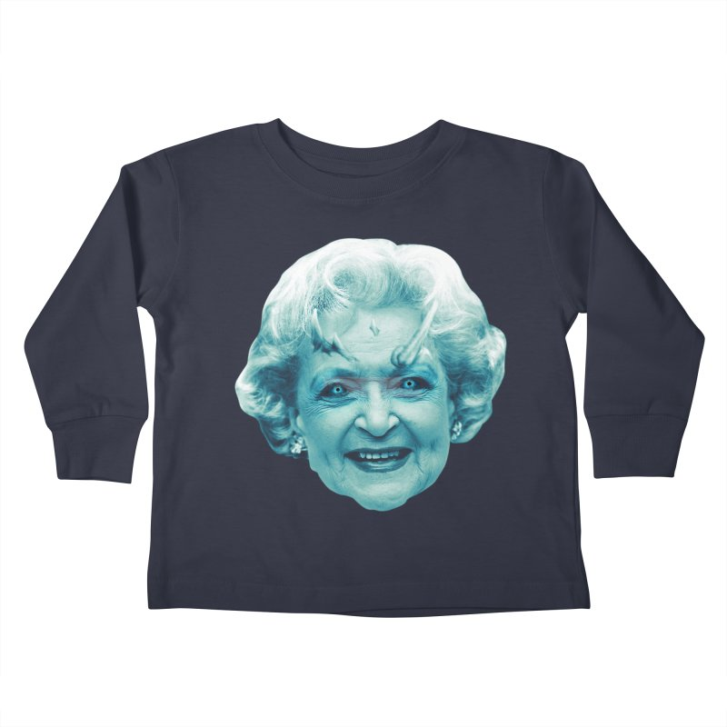 Betty Whitewalker Kids Toddler Longsleeve T-Shirt by Gamma Bomb - Explosively Mutating Your Look