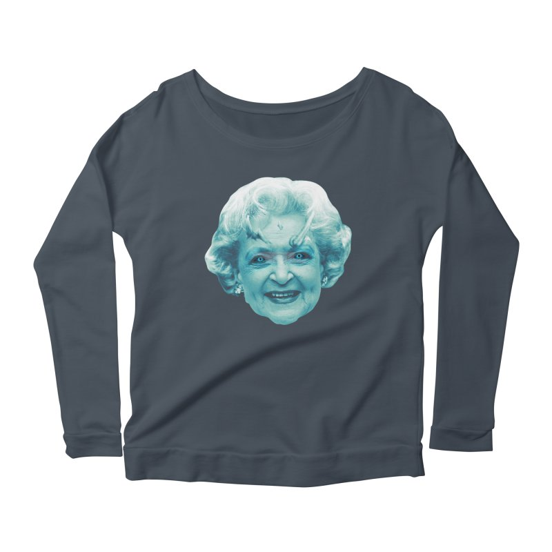 Betty Whitewalker Women's Scoop Neck Longsleeve T-Shirt by Gamma Bomb - Explosively Mutating Your Look