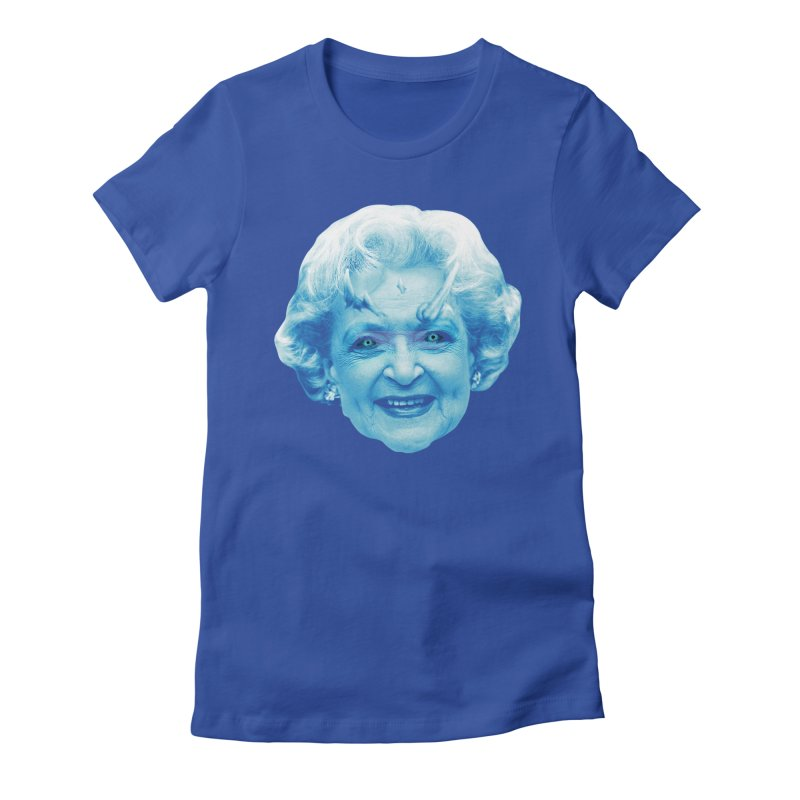 Betty Whitewalker Women's Fitted T-Shirt by Gamma Bomb - Explosively Mutating Your Look