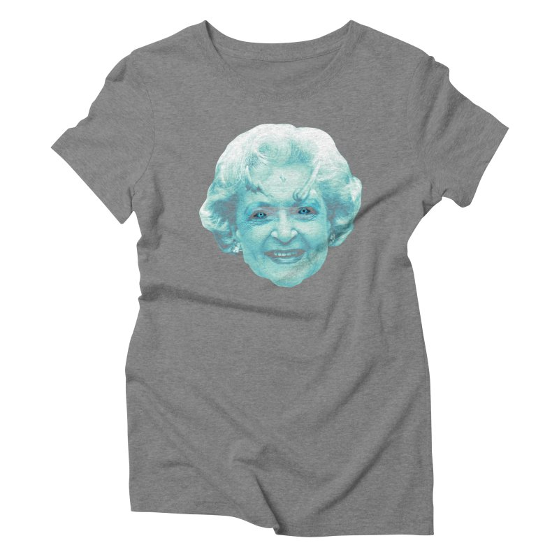 Betty Whitewalker Women's Triblend T-Shirt by Gamma Bomb - Explosively Mutating Your Look