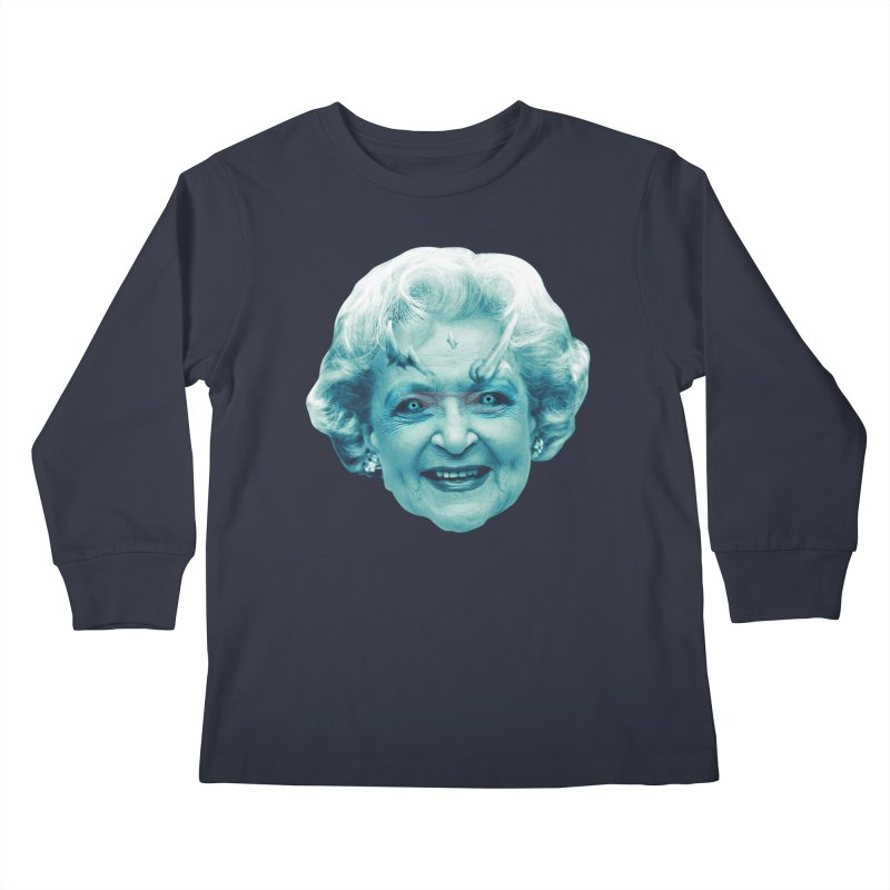 Betty Whitewalker Kids Longsleeve T-Shirt by Gamma Bomb - Explosively Mutating Your Look