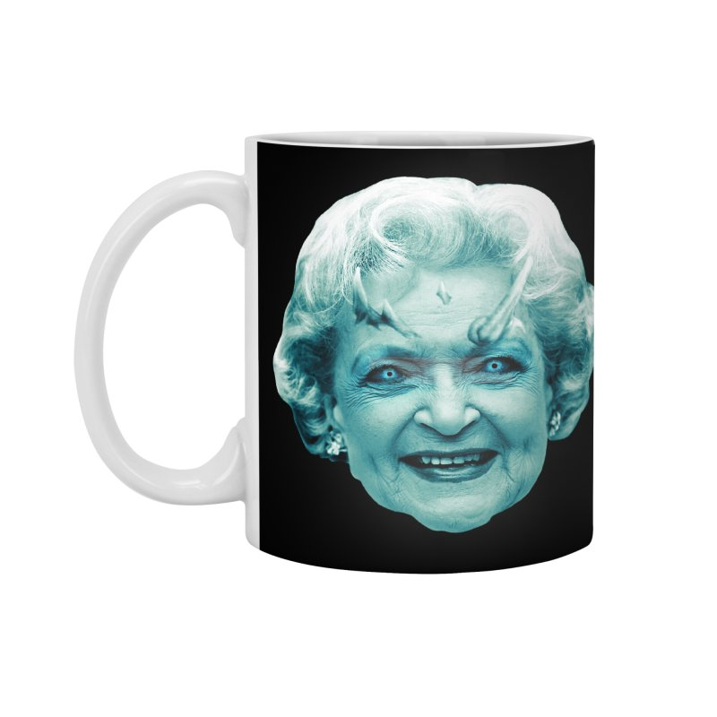 Betty Whitewalker Accessories Standard Mug by Gamma Bomb - Explosively Mutating Your Look