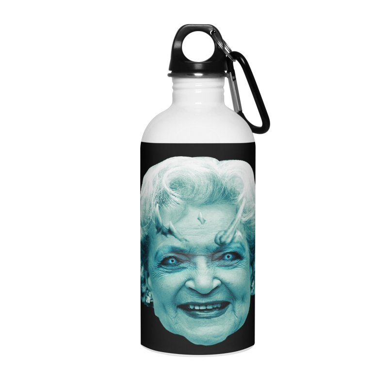 Betty Whitewalker Accessories Water Bottle by Gamma Bomb - Explosively Mutating Your Look