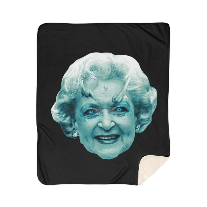 Betty Whitewalker Home Sherpa Blanket Blanket by Gamma Bomb - Explosively Mutating Your Look