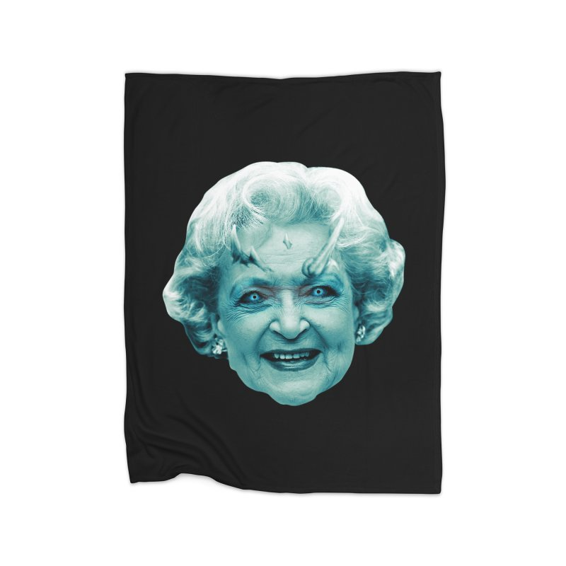 Betty Whitewalker Home Fleece Blanket Blanket by Gamma Bomb - Explosively Mutating Your Look