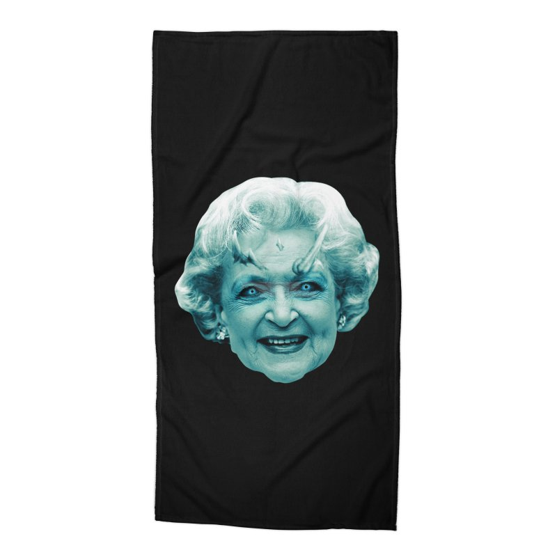 Betty Whitewalker Accessories Beach Towel by Gamma Bomb - Explosively Mutating Your Look
