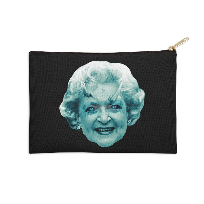 Betty Whitewalker Accessories Zip Pouch by Gamma Bomb - Explosively Mutating Your Look