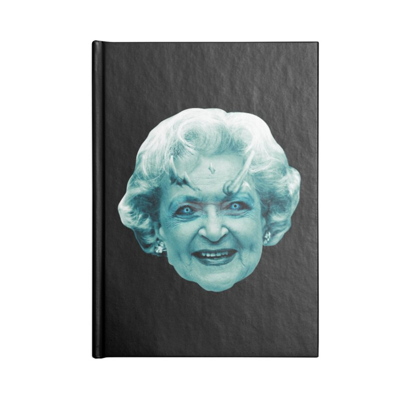 Betty Whitewalker Accessories Blank Journal Notebook by Gamma Bomb - Explosively Mutating Your Look