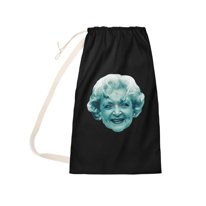 Betty Whitewalker Accessories Laundry Bag Bag by Gamma Bomb - Explosively Mutating Your Look
