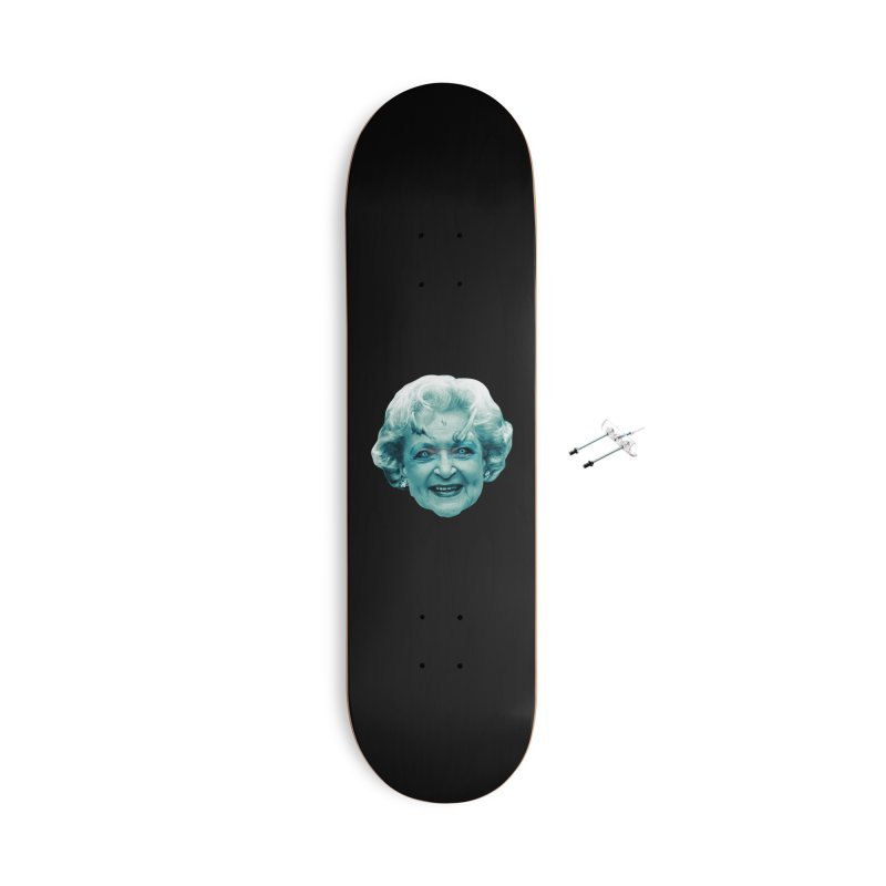 Betty Whitewalker Accessories With Hanging Hardware Skateboard by Gamma Bomb - Explosively Mutating Your Look