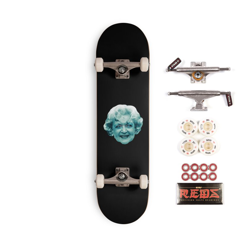 Betty Whitewalker Accessories Complete - Pro Skateboard by Gamma Bomb - Explosively Mutating Your Look