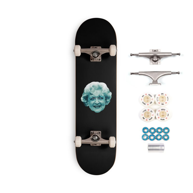 Betty Whitewalker Accessories Complete - Premium Skateboard by Gamma Bomb - Explosively Mutating Your Look