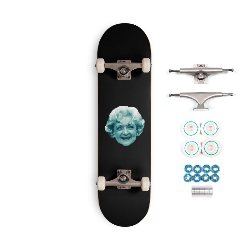 Betty Whitewalker Accessories Skateboard by Gamma Bomb - Explosively Mutating Your Look