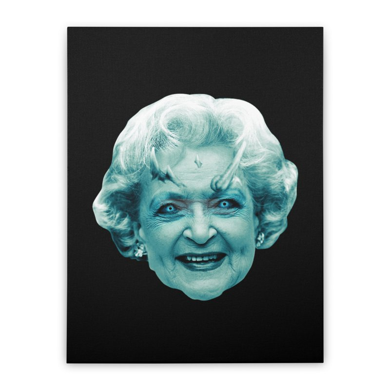Betty Whitewalker Home Stretched Canvas by Gamma Bomb - Explosively Mutating Your Look