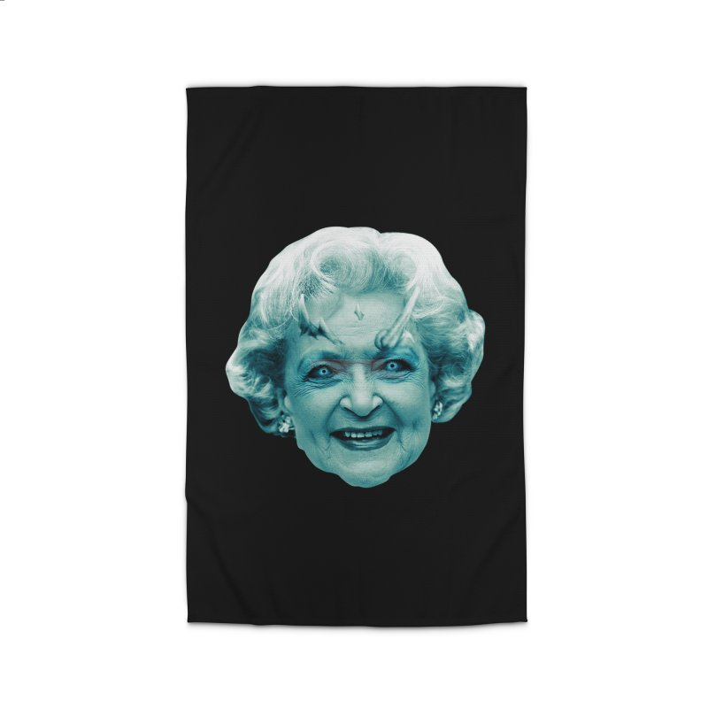 Betty Whitewalker Home Rug by Gamma Bomb - Explosively Mutating Your Look