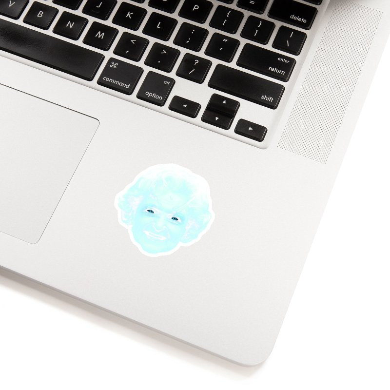 Betty Whitewalker Accessories Sticker by Gamma Bomb - Explosively Mutating Your Look