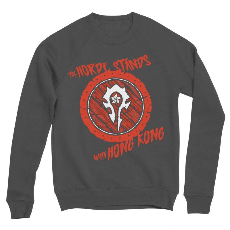 The Horde Stands With Hong Kong Women's Sponge Fleece Sweatshirt by Gamma Bomb - Explosively Mutating Your Look
