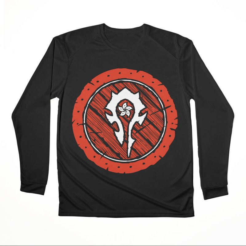 Hong Kong Horde Women's Performance Unisex Longsleeve T-Shirt by Gamma Bomb - Explosively Mutating Your Look