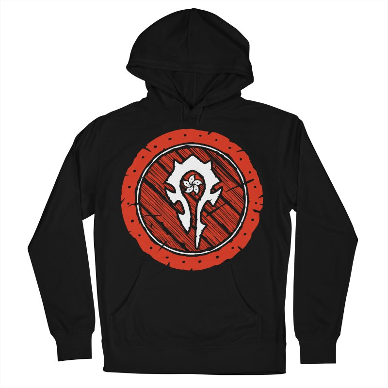Hong Kong Horde Men's French Terry Pullover Hoody by Gamma Bomb - Explosively Mutating Your Look