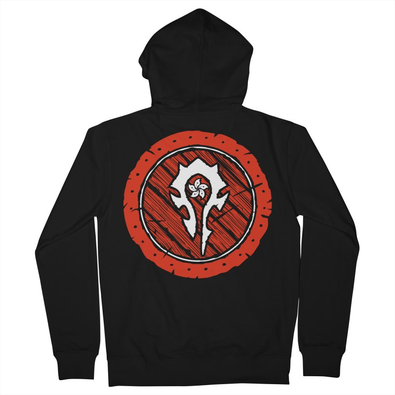 Hong Kong Horde Women's French Terry Zip-Up Hoody by Gamma Bomb - Explosively Mutating Your Look