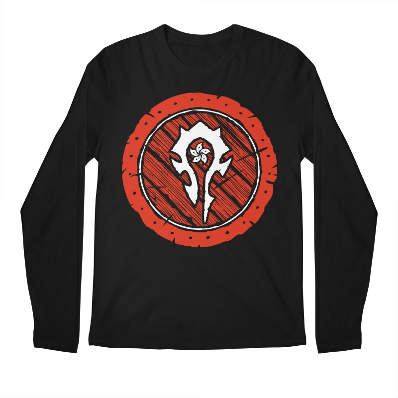 Hong Kong Horde Men's Regular Longsleeve T-Shirt by Gamma Bomb - Explosively Mutating Your Look