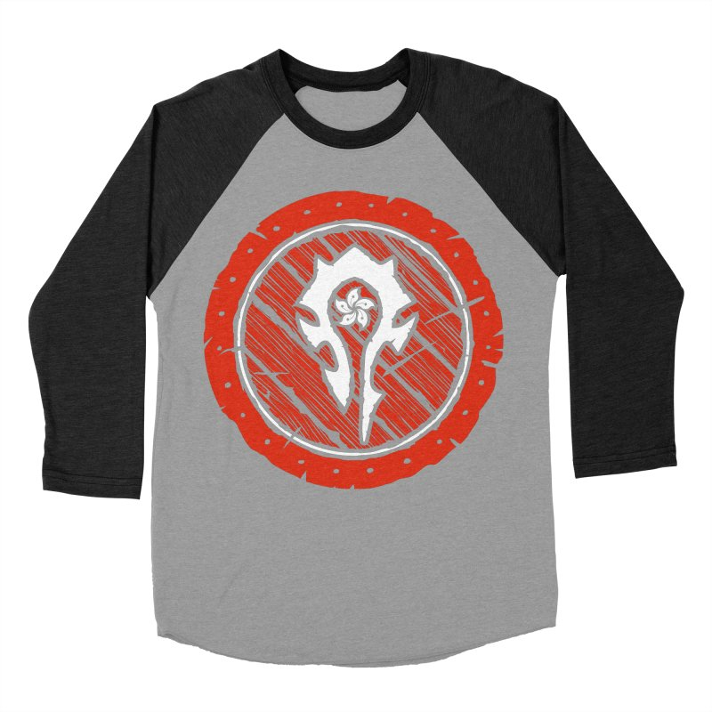 Hong Kong Horde Men's Baseball Triblend Longsleeve T-Shirt by Gamma Bomb - Explosively Mutating Your Look