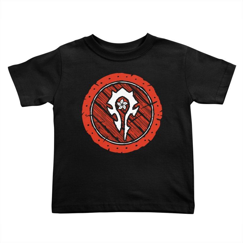 Hong Kong Horde Kids Toddler T-Shirt by Gamma Bomb - Explosively Mutating Your Look