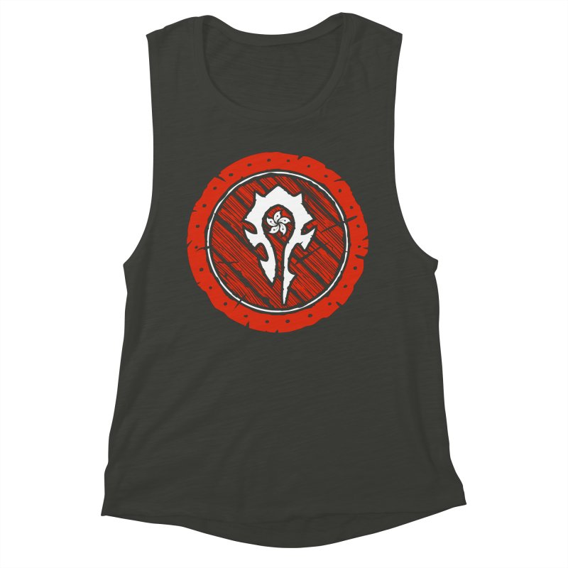 Hong Kong Horde Women's Muscle Tank by Gamma Bomb - Explosively Mutating Your Look