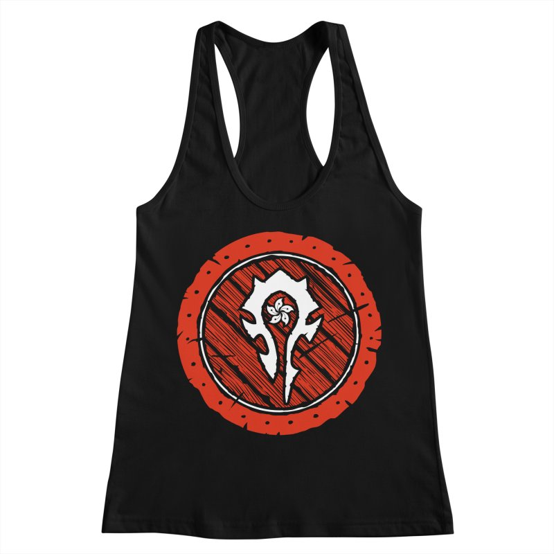 Hong Kong Horde Women's Racerback Tank by Gamma Bomb - Explosively Mutating Your Look