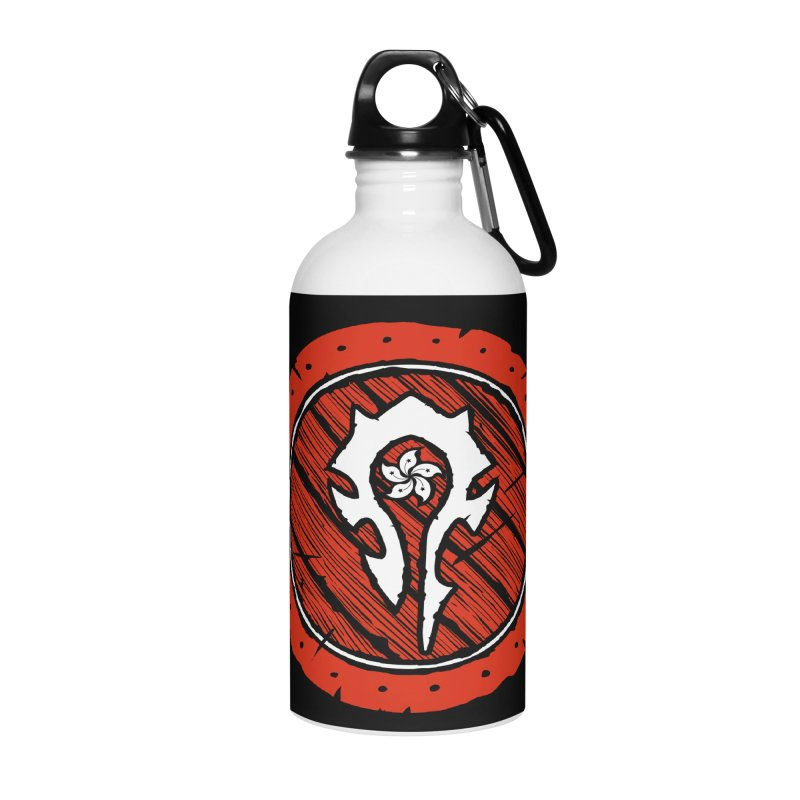 Hong Kong Horde Accessories Water Bottle by Gamma Bomb - Explosively Mutating Your Look