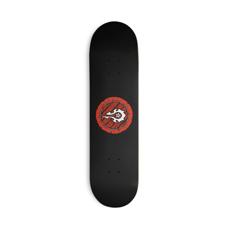 Hong Kong Horde Accessories Deck Only Skateboard by Gamma Bomb - Explosively Mutating Your Look
