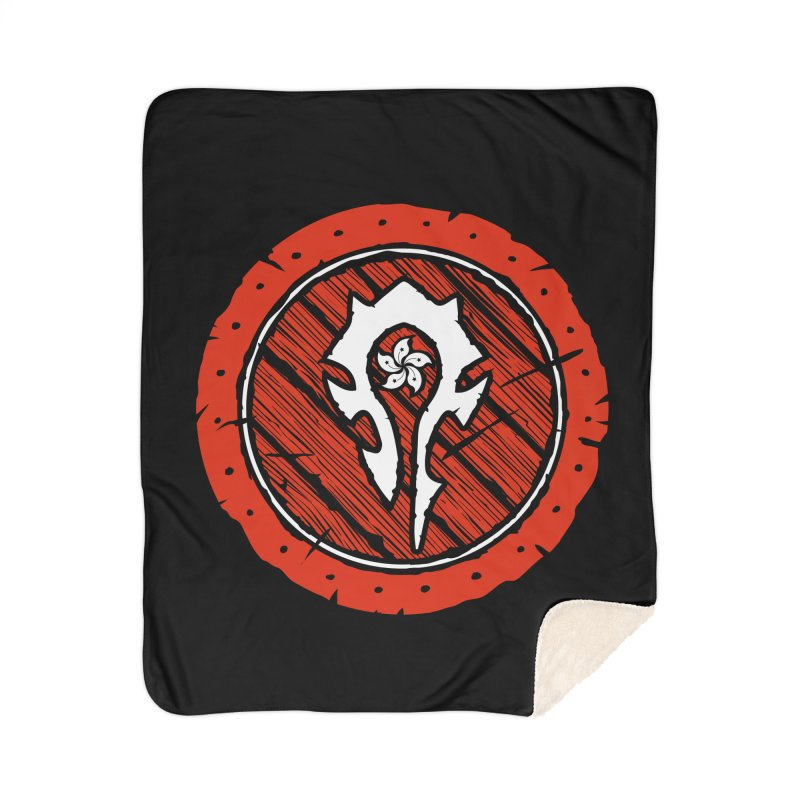 Hong Kong Horde Home Sherpa Blanket Blanket by Gamma Bomb - Explosively Mutating Your Look
