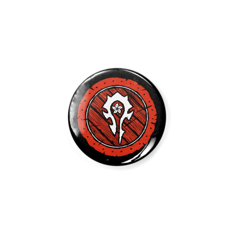 Hong Kong Horde Accessories Button by Gamma Bomb - Explosively Mutating Your Look