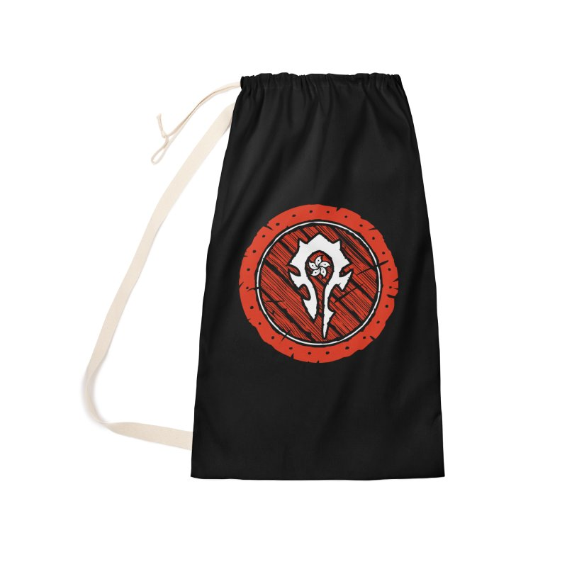 Hong Kong Horde Accessories Laundry Bag Bag by Gamma Bomb - Explosively Mutating Your Look
