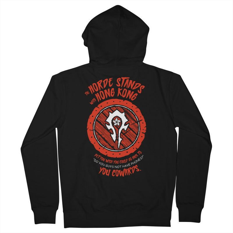 Can't Go Back Men's Zip-Up Hoody by Gamma Bomb - Explosively Mutating Your Look