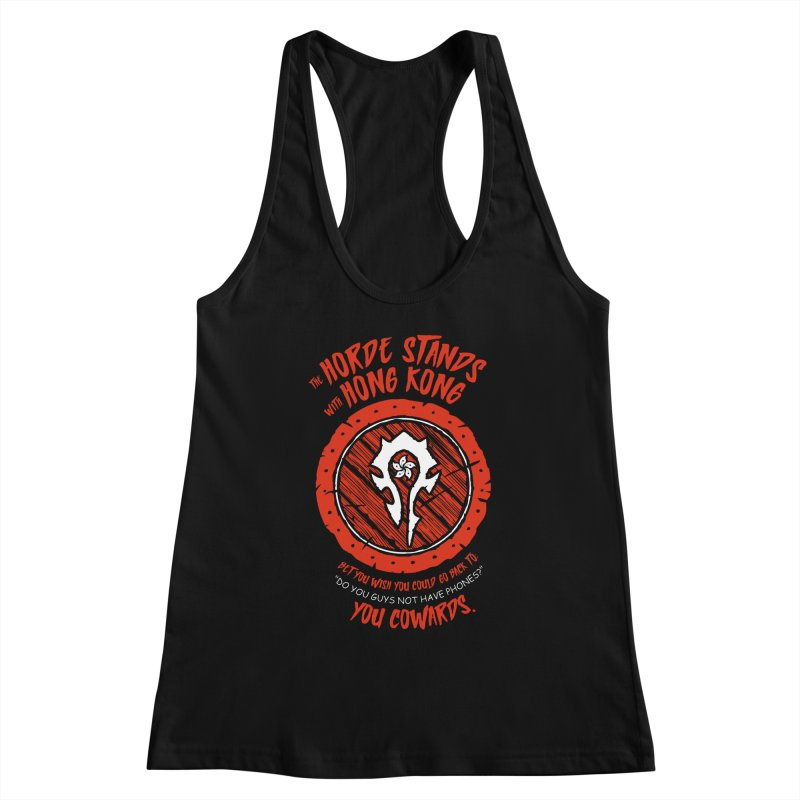 Can't Go Back Women's Racerback Tank by Gamma Bomb - Explosively Mutating Your Look