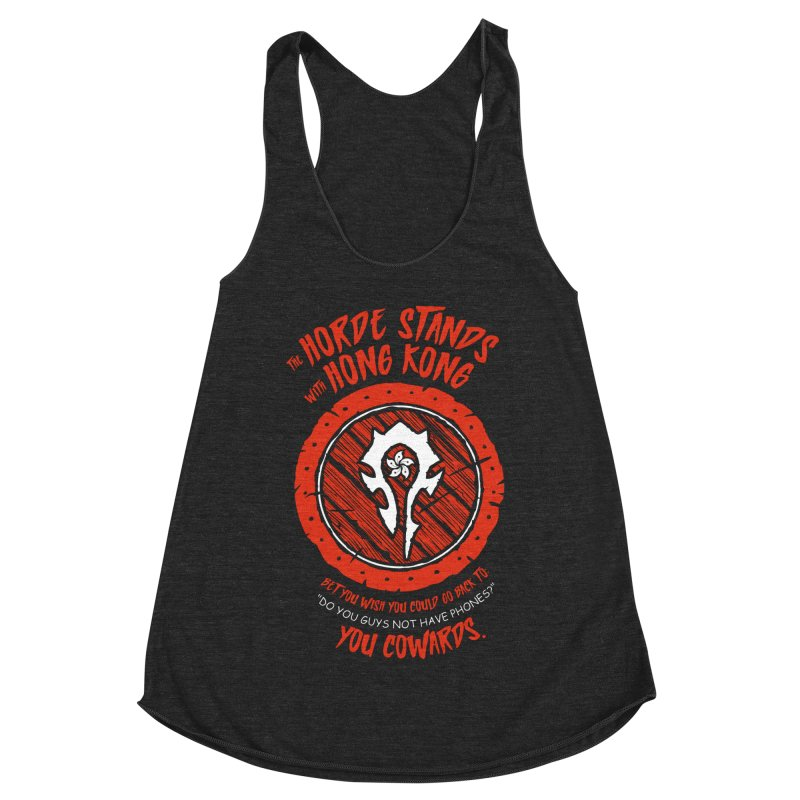 Can't Go Back Women's Racerback Triblend Tank by Gamma Bomb - Explosively Mutating Your Look