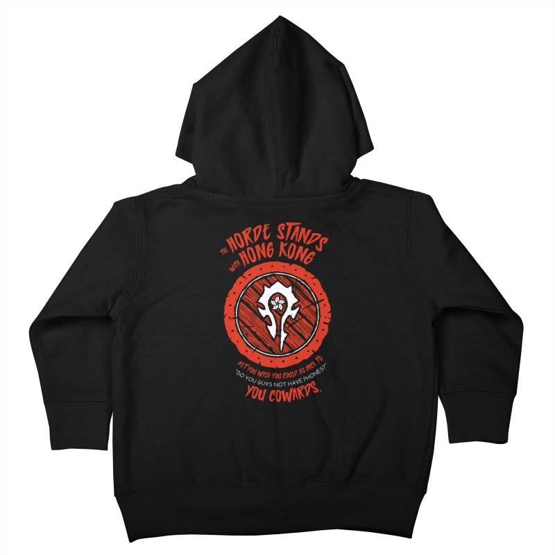 Can't Go Back Kids Toddler Zip-Up Hoody by Gamma Bomb - Explosively Mutating Your Look