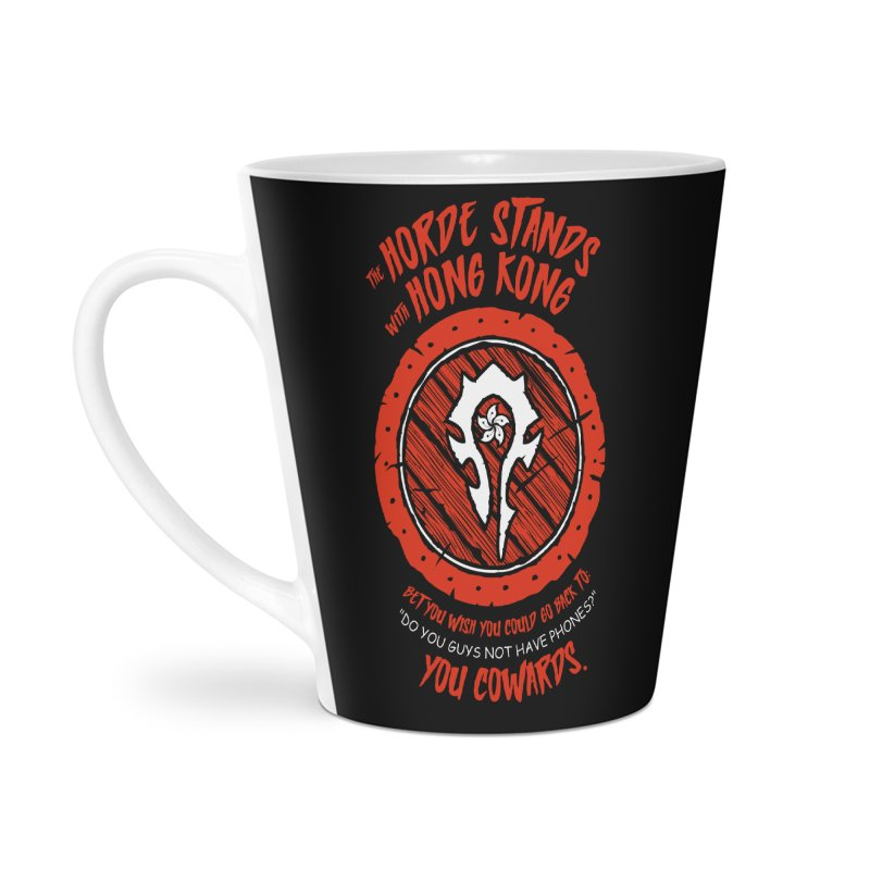 Can't Go Back Accessories Latte Mug by Gamma Bomb - Explosively Mutating Your Look