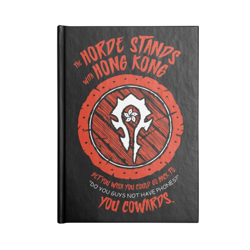 Can't Go Back Accessories Lined Journal Notebook by Gamma Bomb - Explosively Mutating Your Look