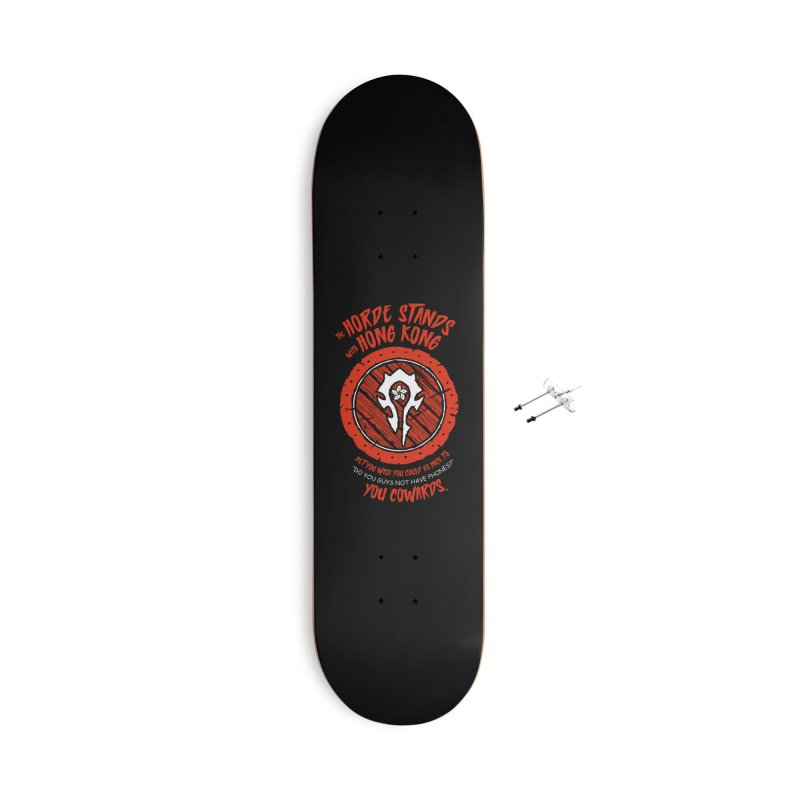 Can't Go Back Accessories Skateboard by Gamma Bomb - Explosively Mutating Your Look
