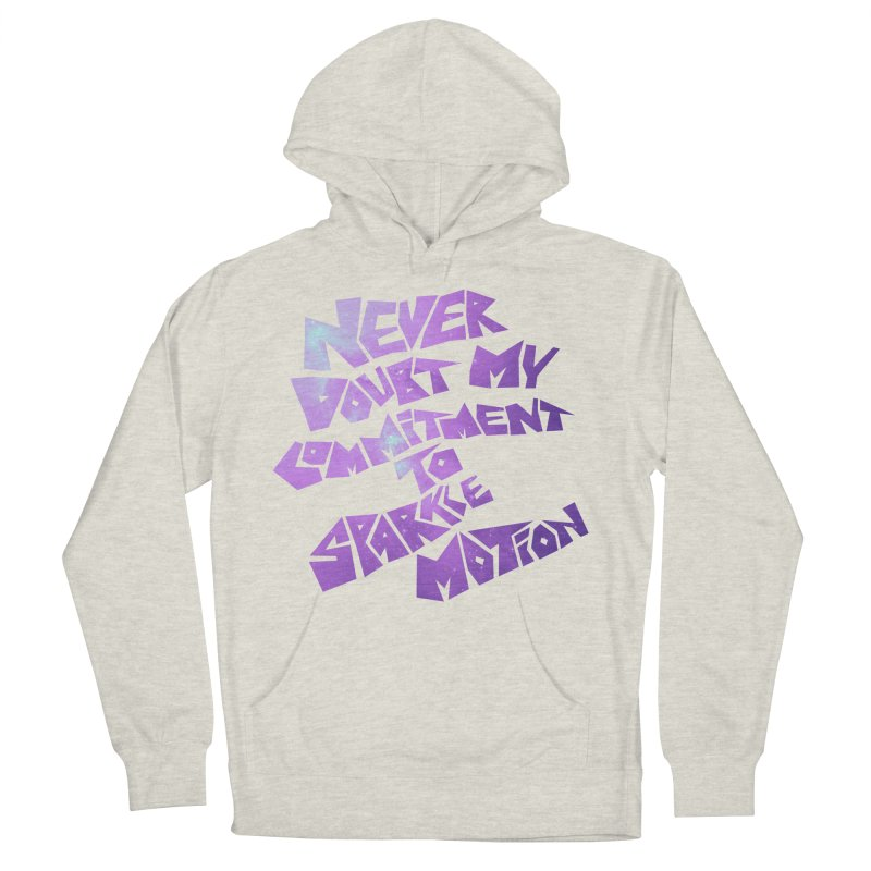 Sparkle Motion Women's Pullover Hoody by Gamma Bomb - A Celebration of Imagination