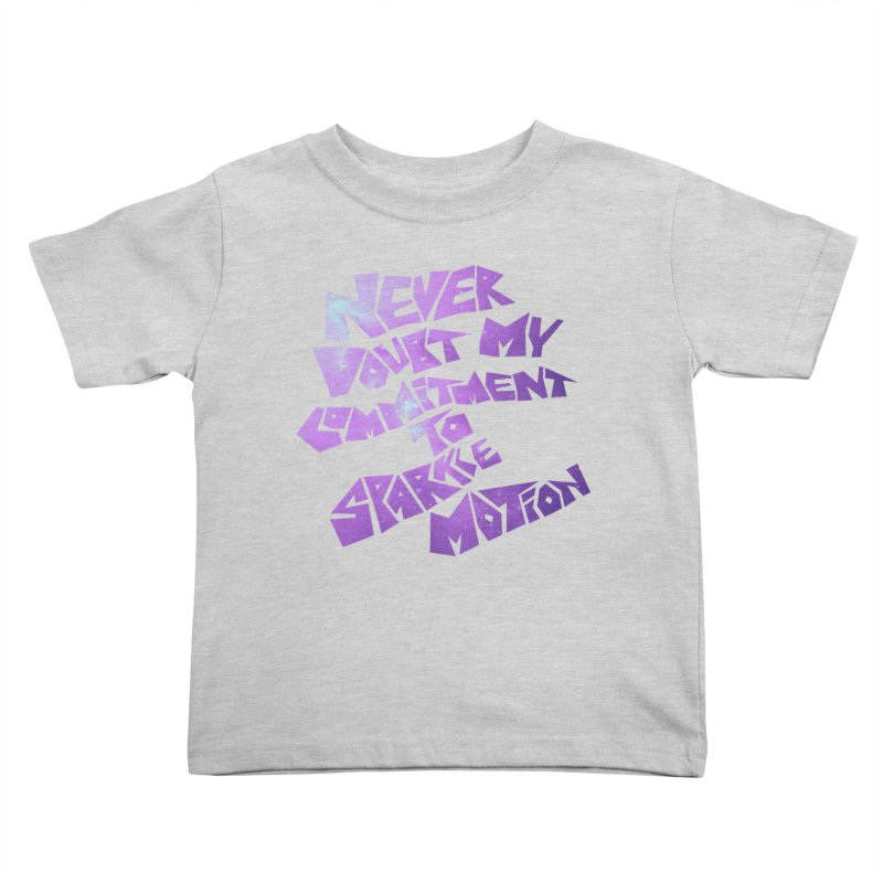 Sparkle Motion Kids Toddler T-Shirt by Gamma Bomb - A Celebration of Imagination