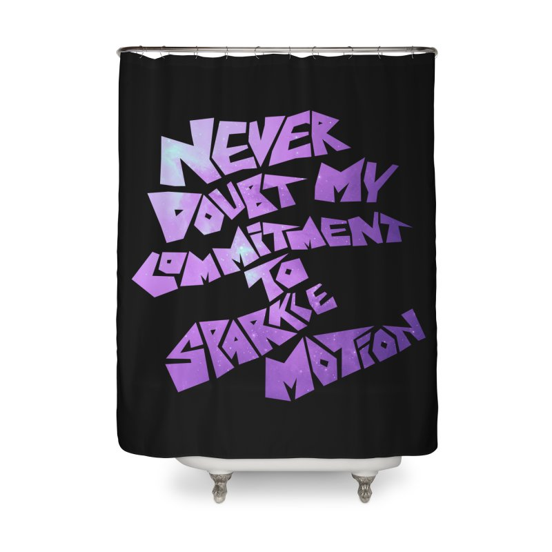Sparkle Motion Home Shower Curtain by Gamma Bomb - A Celebration of Imagination