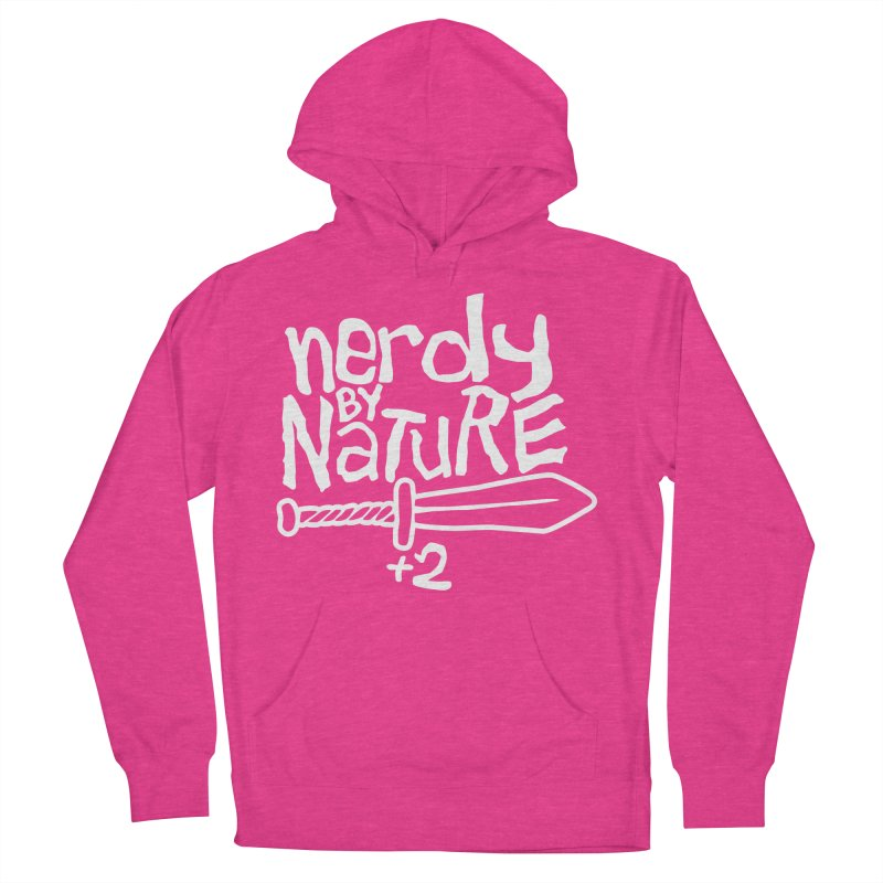 Nerdy By Nature Women's Pullover Hoody by Gamma Bomb - A Celebration of Imagination